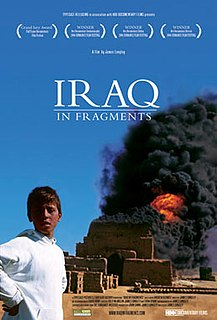 <i>Iraq in Fragments</i> 2006 film by James Longley