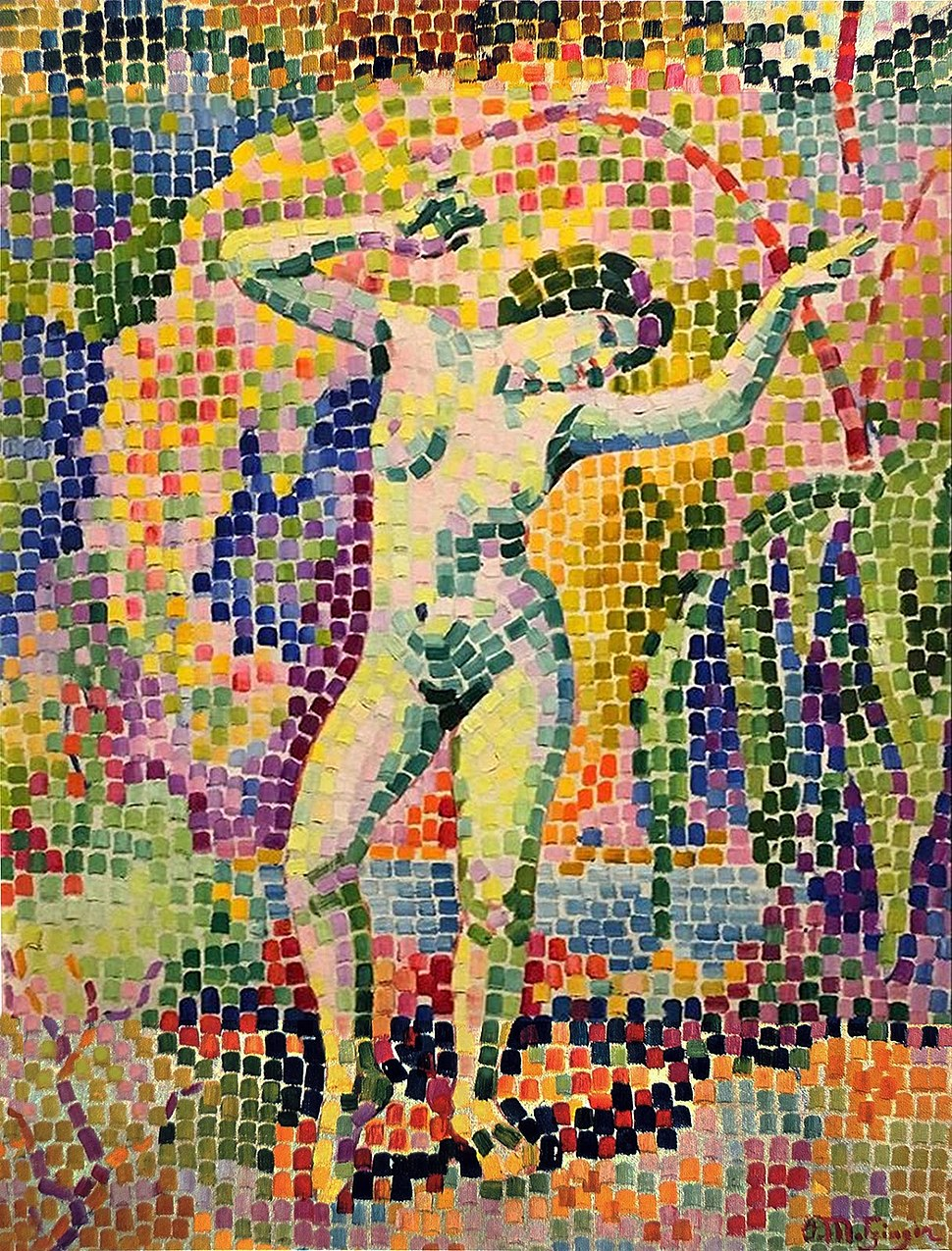 Jean Metzinger, 1906, La dance (Bacchante), oil on canvas, 73 x 54 cm DSC05359..