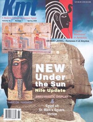 Kmt (magazine) - Image: KMT magazine spring 2008