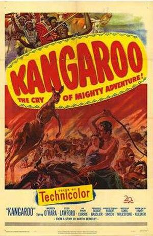 Kangaroo (1952 film) - Image: Kangaroo Film Poster