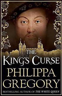 <i>The Kings Curse</i> book by Philippa Gregory