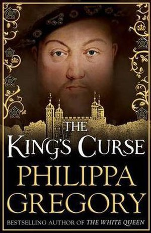 The King's Curse - First UK edition cover