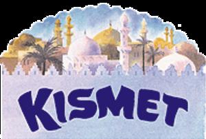 Kismet (musical) - Original Logo