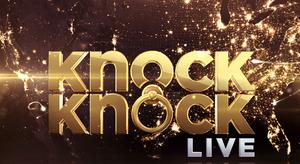 Knock Knock Live - Image: Knock Knock Live logo