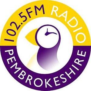 102.5 Radio Pembrokeshire - Radio Pembrokeshire logo used until 2016