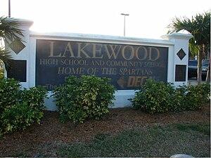 Lakewood High School (Florida) - Image: Lakewood High