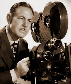 Joseph LaShelle - Promotional Portrait, shown with Fox's proprietary Fox Studio Camera