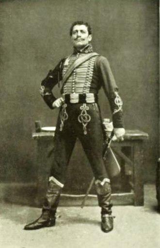 Lewis Waller - As Brigadier Gerard, 1906