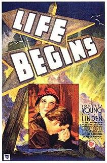 <i>Life Begins</i> (film) 1932 film