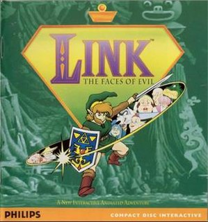 <i>Link: The Faces of Evil</i> and <i>Zelda: The Wand of Gamelon</i> 1993 video game