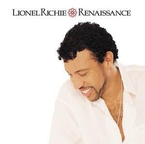 Renaissance (Lionel Richie album) - Image: Lionel Richie Renaissance