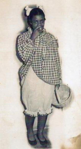 Little Miss Cornshucks - Publicity photo, c1940s