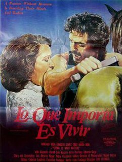 <i>Life Is Most Important</i> 1987 film by Luis Alcoriza