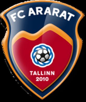 FC Ararat Tallinn - Image: Logo of FC Ararat Tallinn