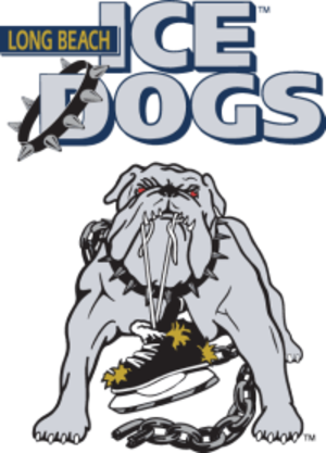 Long Beach Ice Dogs - Image: Long Beach Ice Dogs