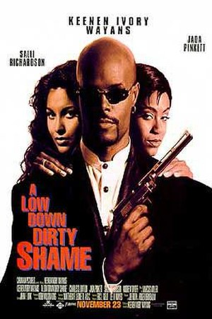 A Low Down Dirty Shame - Theatrical release poster