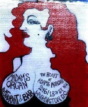 Madam's Organ Blues Bar - Mural at Madam's Organ Blues Bar