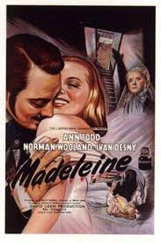 Madeleine (1950 film) - Image: Madeleine 1950