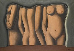 Magritte, The adulation of space, l'eloge de l'espace, 1927-28.jpg
