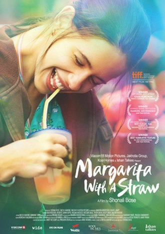 Margarita with a Straw - Theatrical release poster