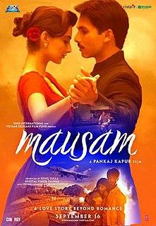 <i>Mausam</i> (2011 film) 2011 film by Pankaj Kapur