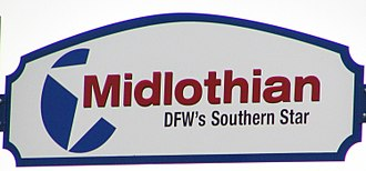 Midlothian, Texas - Midlothian's current motto