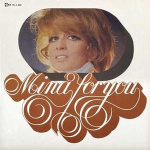Mina for You - Image: Mina for you 1969