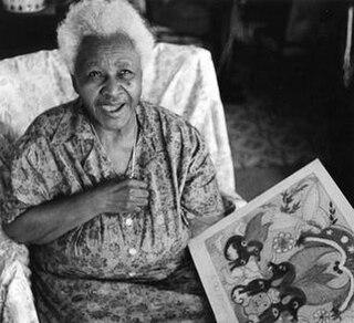 Minnie Evans American artist