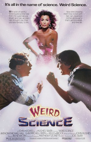 Weird Science (film) - Theatrical release poster by Tom Jung