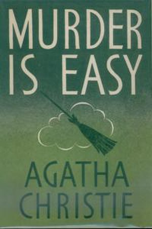 Murder Is Easy - Dust-jacket illustration of the first UK edition