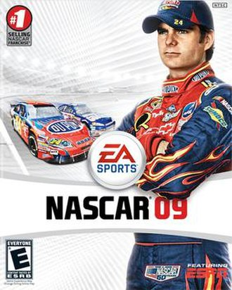 NASCAR 09 - Cover art
