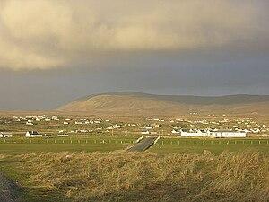 Derrybeg - A view of Derrybeg from Maghergallon.