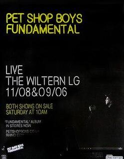 Fundamental Tour Concert tour