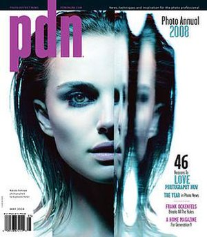 Photo District News - The cover of PDN's May 2008 issue