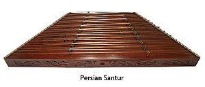 Santur - Image: Persian Classical Santur
