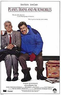 <i>Planes, Trains and Automobiles</i> 1987 American comedy film directed by John Hughes