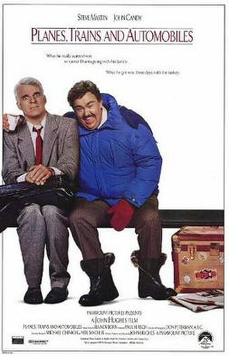 Planes, Trains and Automobiles - Theatrical release poster