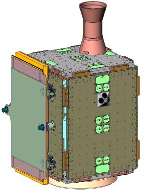 PnPSat-1 - PnPSat computer model
