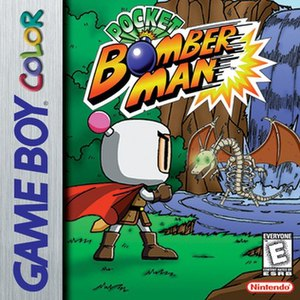 Pocket Bomberman - North American Game Boy Color cover art