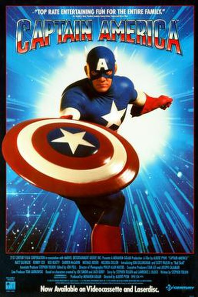 Picture of a movie: Captain America