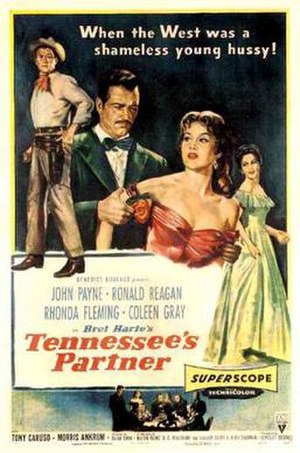 Tennessee's Partner - Theatrical release poster