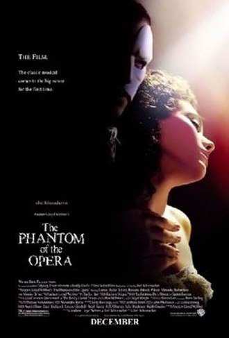 The Phantom of the Opera (2004 film) - Theatrical release poster