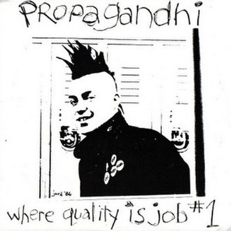 Where Quality Is Job Number 1 - Image: Propagandhi Where Quality Is Job Number 1 cover