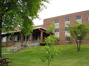 Penn State Greater Allegheny - McKeesport Hall, Constructed in 1969.