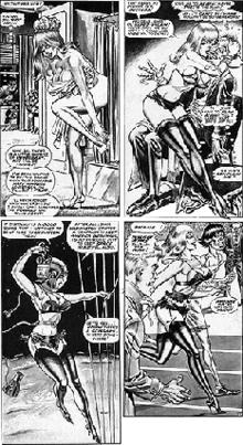 Softcore comic strip