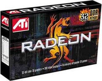 ATi Radeon R100 Series - Radeon DDR box (R100)
