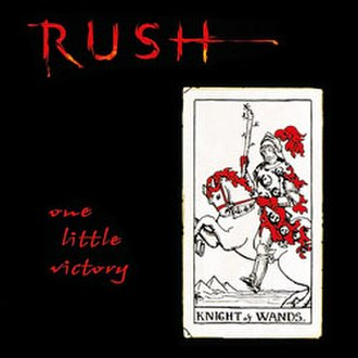 One Little Victory - Image: RUSH onelittlevictory