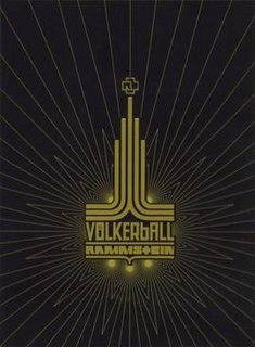 <i>Völkerball</i> 2006 live album by Rammstein