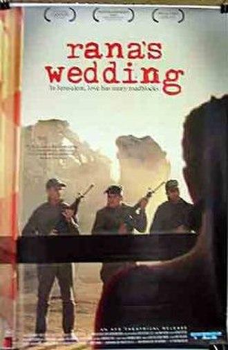 Rana's Wedding - Poster