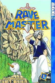 <i>Rave Master</i> Japanese manga series